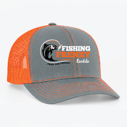 Fishing Frenzy Tackle Structured Mesh Back Hat