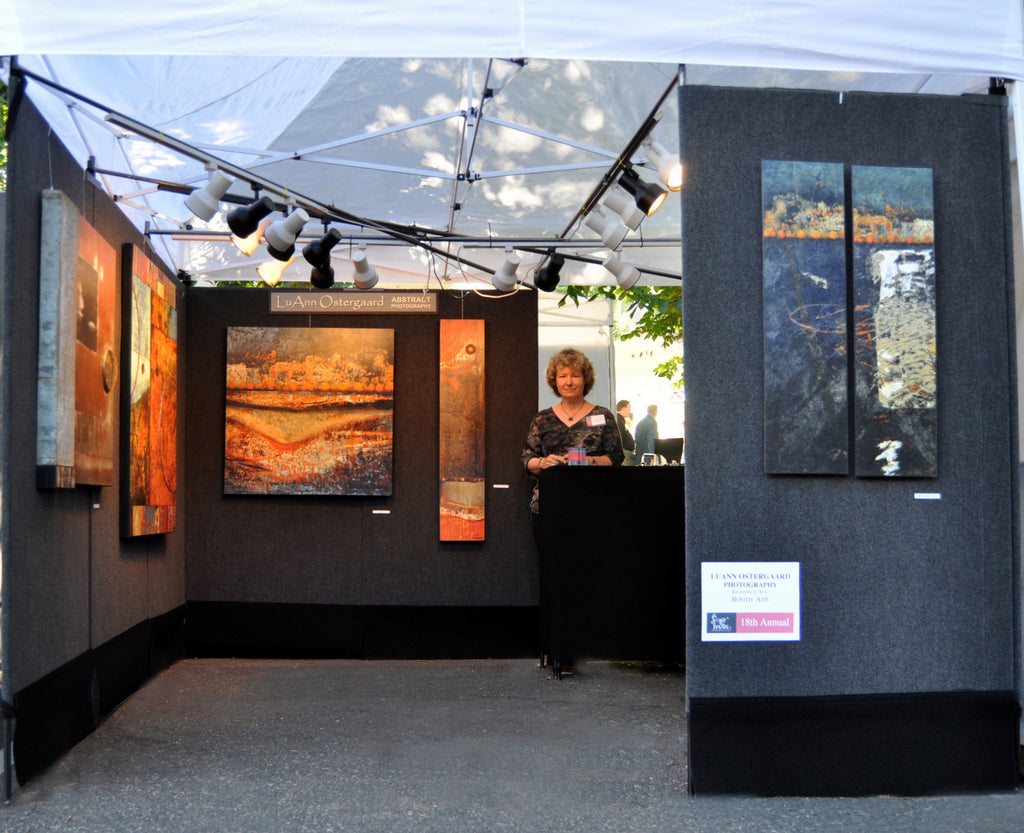 The Art Fair Booth