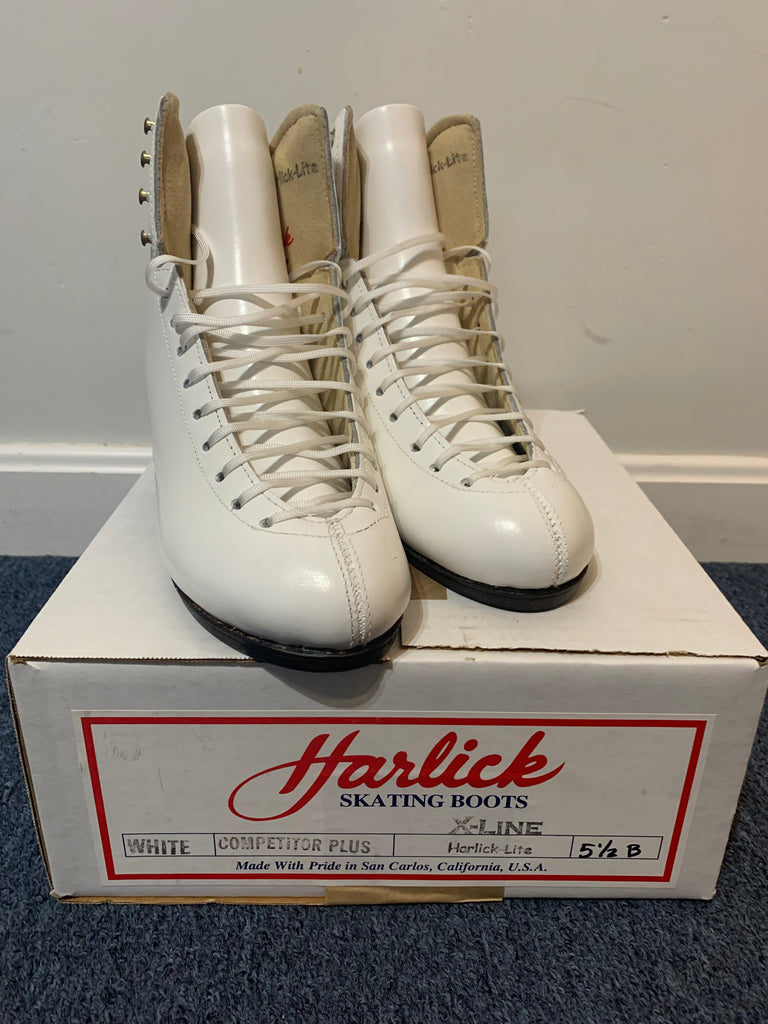 Harlick Boots - Competitor Plus 5.5B - The Sharper Edge Skates