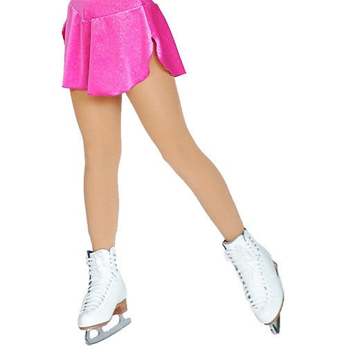 ChloeNoel Footed Tights - Medium Tan TF8830 - The Sharper Edge Skates