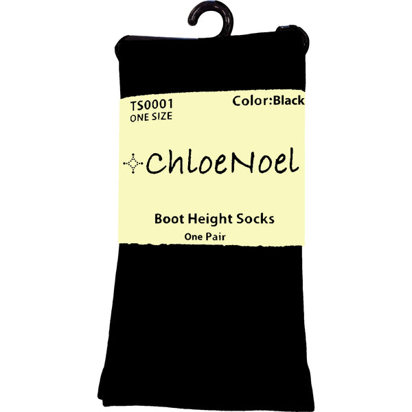 ChloeNoel Boot Height Socks - Tan