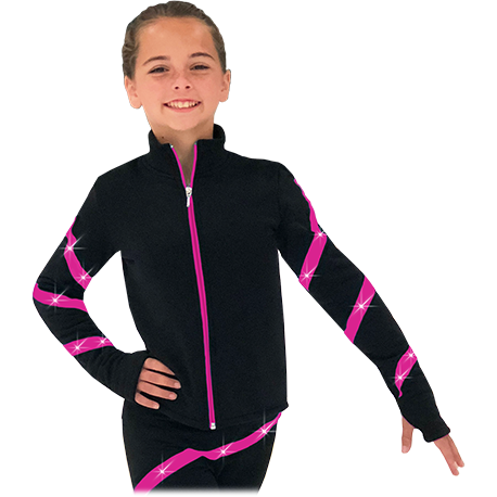 ChloeNoel JS106P(Elite Polartec Spiral Fleece Jackets ) - The Sharper Edge Skates