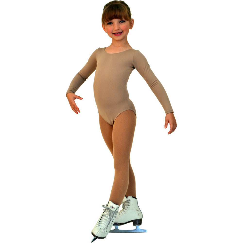 ChloeNoel BL02 Bodywear Long Sleeved Leotard - The Sharper Edge Skates