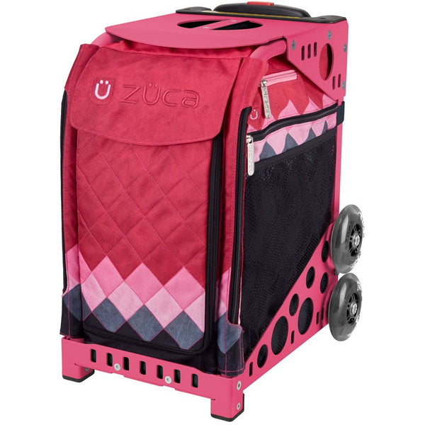 Pink Diamonds Zuca Bag - The Sharper Edge Skates