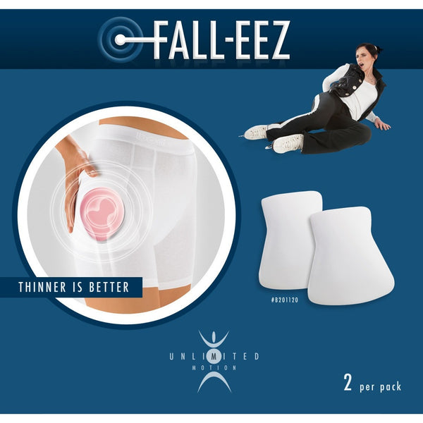 Unlimited Motion - Fall Eez Hip Pads - The Sharper Edge Skates