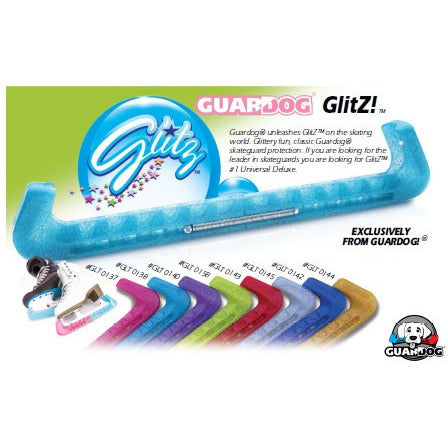 Guard Dog 2 Piece Universal Blade Guards - Glitz - The Sharper Edge Skates