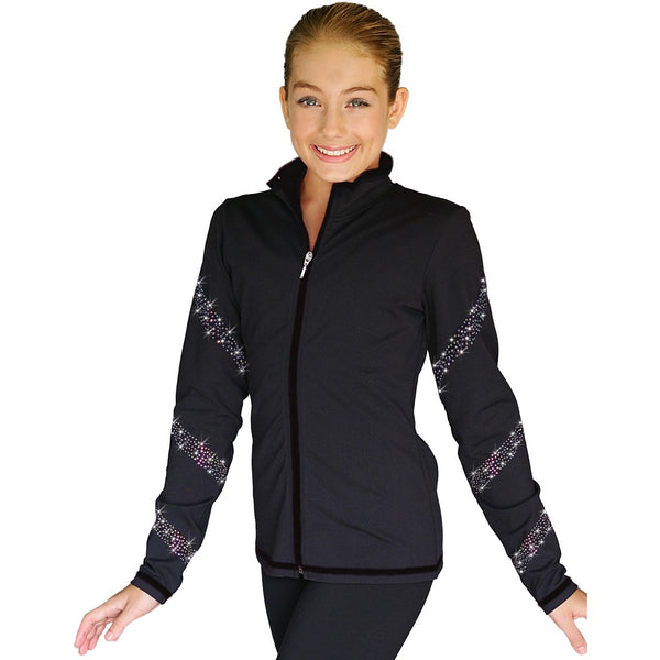 ChloeNoel JS96 Crystal Spiral Jacket - The Sharper Edge Skates