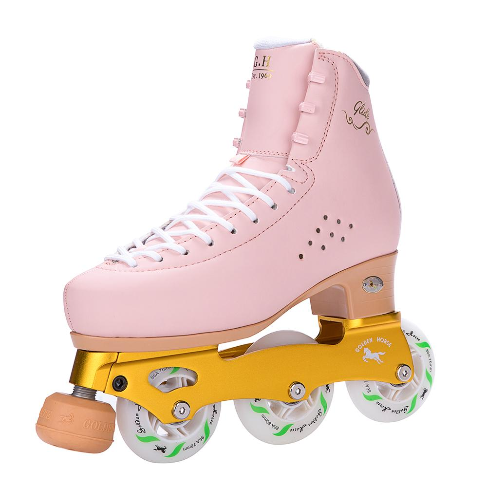Golden Horse Magic Inline Figure Skates