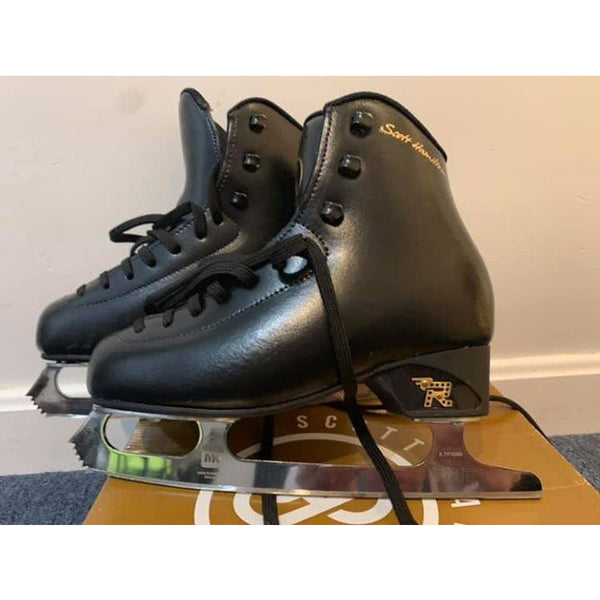 Scott Hamilton Rosport Boys Skates Size 23.0 (3.5) - USED - The Sharper Edge Skates