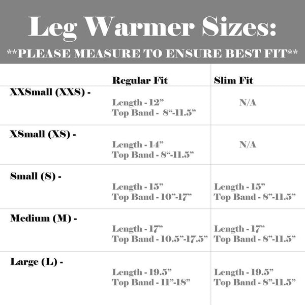 Zip Off Leg Warmers - Black Fleece Leg Warmers for Skaters