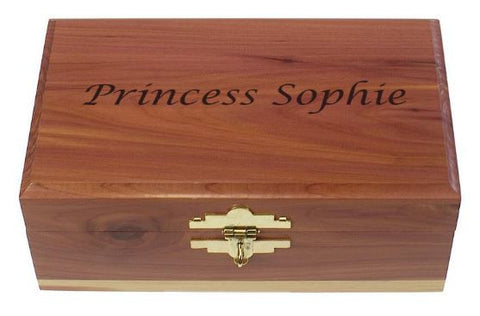 Cedar Urn - Medium - Engraved Name