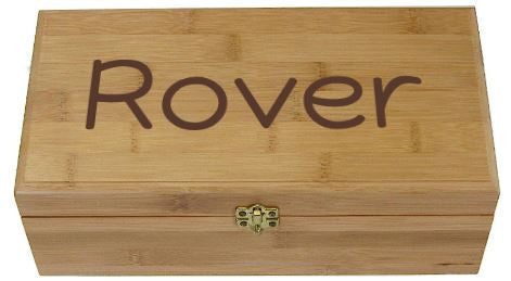Bamboo Urn - Large - Engraved Name
