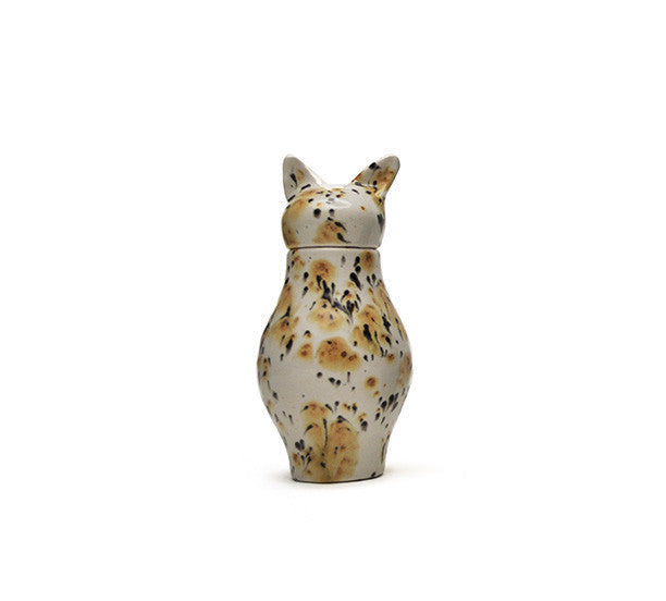 Calico Cat Cermaic Pet Urn
