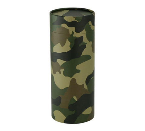 Green Camouflage Scattering Tube