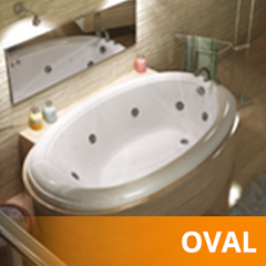 Oval Bathtubs