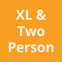 XL & 2 Person Bathtubs