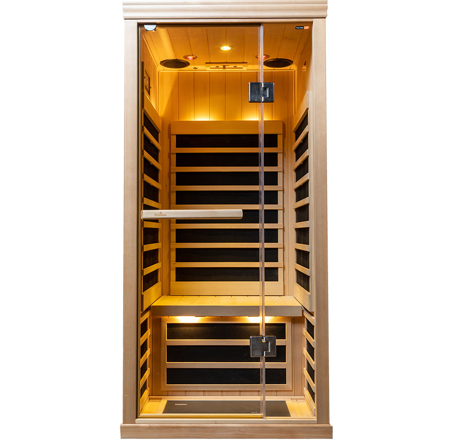One person S-810 Low EMR/Low EF Infrared Sauna