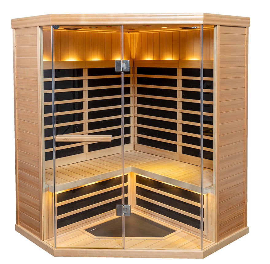 4 Person S-880 Low EMR/Low EF Infrared Sauna