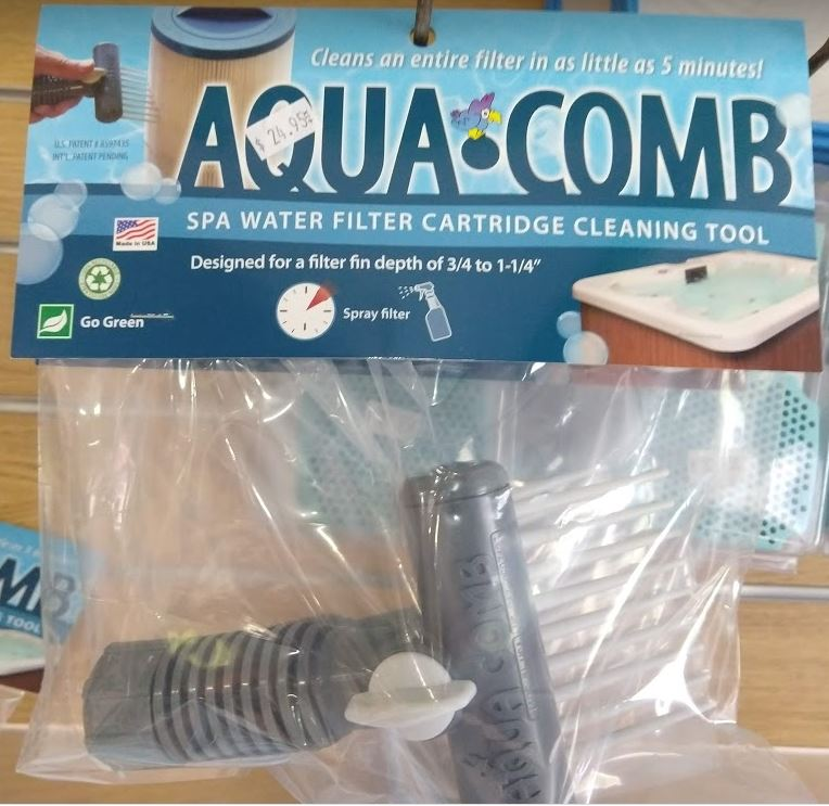 Aqua Comb super effective filter element cleaner