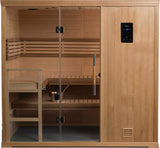 2020 5' x 7' Hallmark Finnish Sauna Music & WIFI seats 5