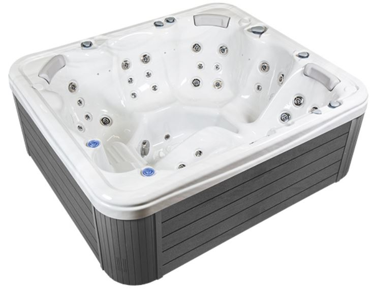 Wellis Leo Scandi model, 5 seat lounger hot tub