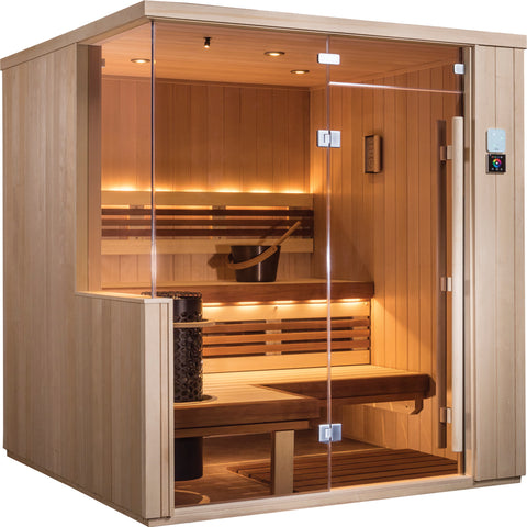 Panel built Sisu saunas will be online by the end of February 2020