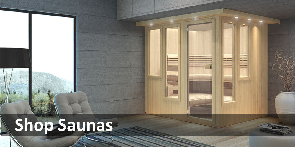 Click to see all saunas for sale