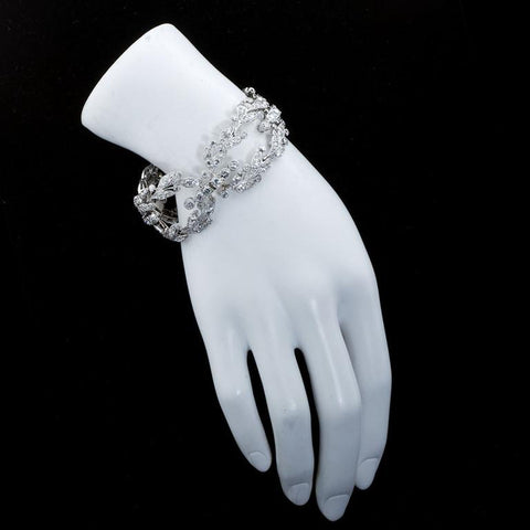 CARTIER Paris Diamond Bracelet Belle Epoque Era Circa 1910 - 2642 - TMW Jewels Co.