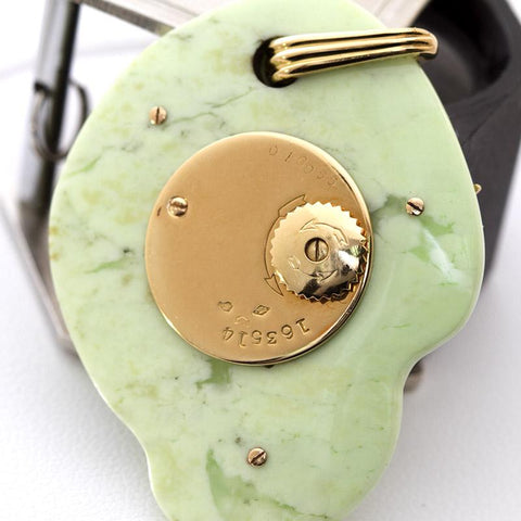 Cartier Paris Rare Art Deco Jade Pocket Watch Pendant by Edmond Jaeger - TMWJ-1086 - TMW Jewels Co.