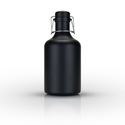 Matte Black Stainless Steel Growler - BINTBIZ