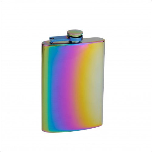 Rainbow Colored Hip Flask - BINTBIZ