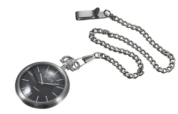 Visol Presley  Stainless Steel Quartz Pocket Watch