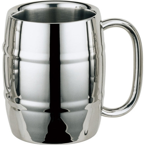 Double Walled Stainless Steel Beer Mug - BINTBIZ