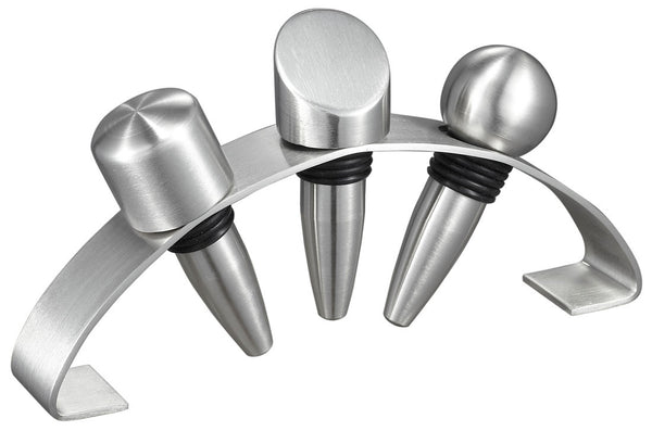 Wine Stoppers with Arched Stand - BINTBIZ
