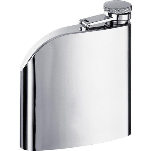 Curve 6-oz. Flask - BINTBIZ