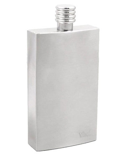 Cosmopolitan Stainless Steel Hip Flask - 4 oz - BINTBIZ