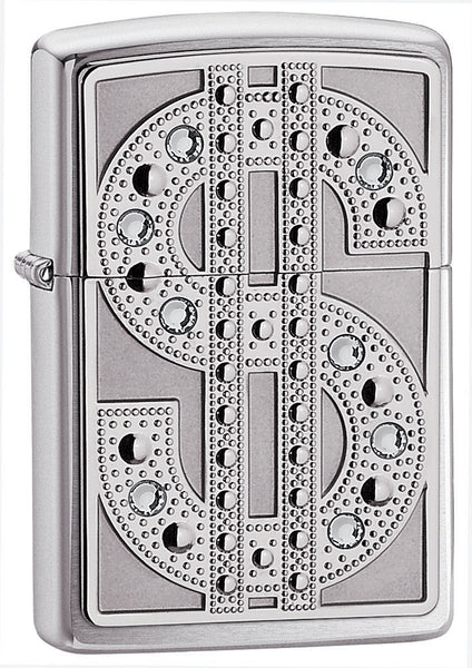 Zippo Bling Chrome Lighter