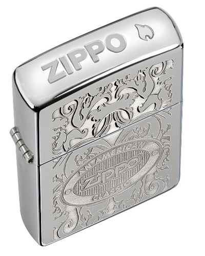 Zippo American Classic Crown Stamp Lighter