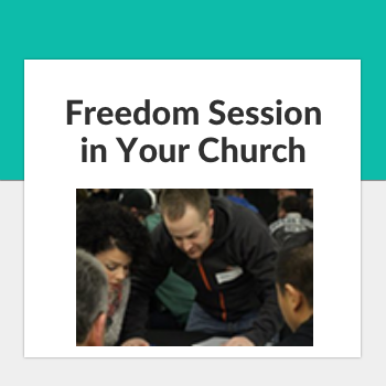 freedom session in your church