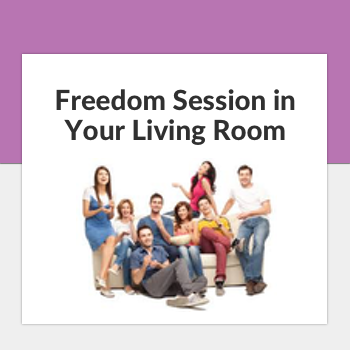 freedom session in your living room