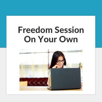 freedom session on your own