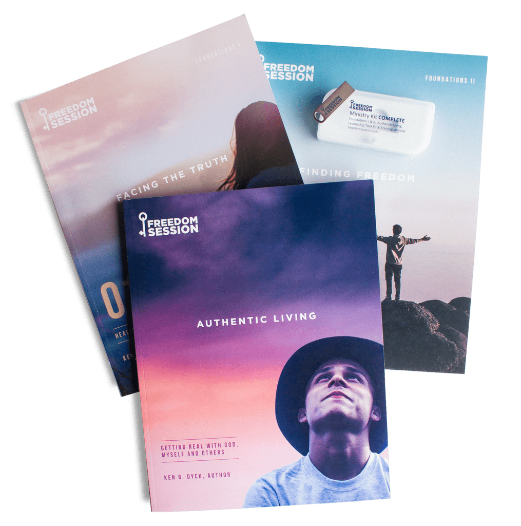 Freedom Session: COMPLETE Ministry Kit via DOWNLOAD