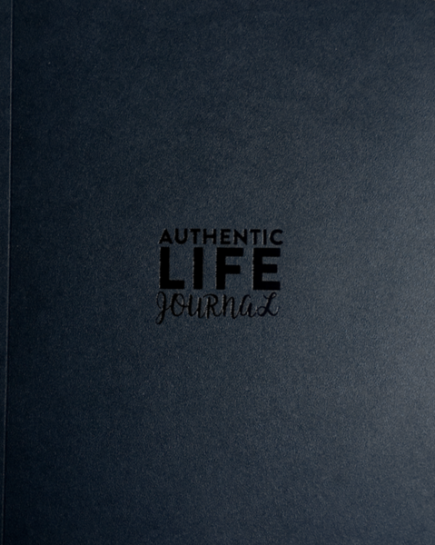 Authentic Life Journal, Black, Ivory or Blue