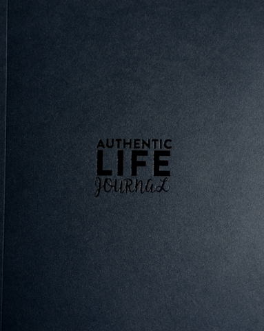 Authentic Life Journal, Black or Ivory