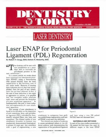 Reprint - Dentistry Today; November 1998 - Qty 25