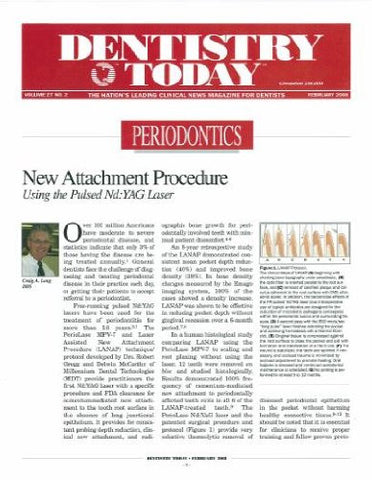 Reprint - Dentistry Today; February 2008 - Qty 25