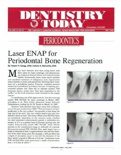Reprint - Dentistry Today; May 1998 - Qty 25
