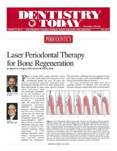 Reprint - Dentistry Today; May 2002 - Qty 25