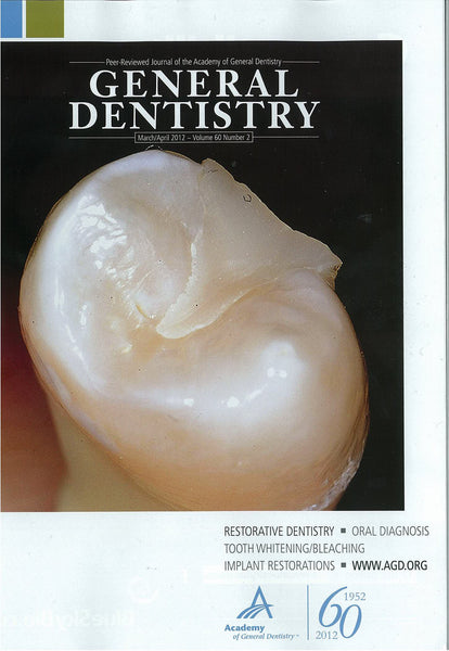Reprint - General Dentistry; March/April 2012 - Qty 25