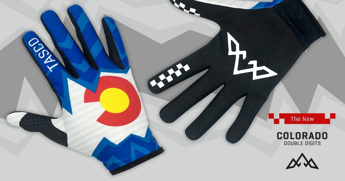 Colorado Double Digits Gloves Graphic